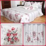 _vyr_2570Dekoracny-set-do-spalne-bielej-farby-s-cervenou-kyticou-kvetov